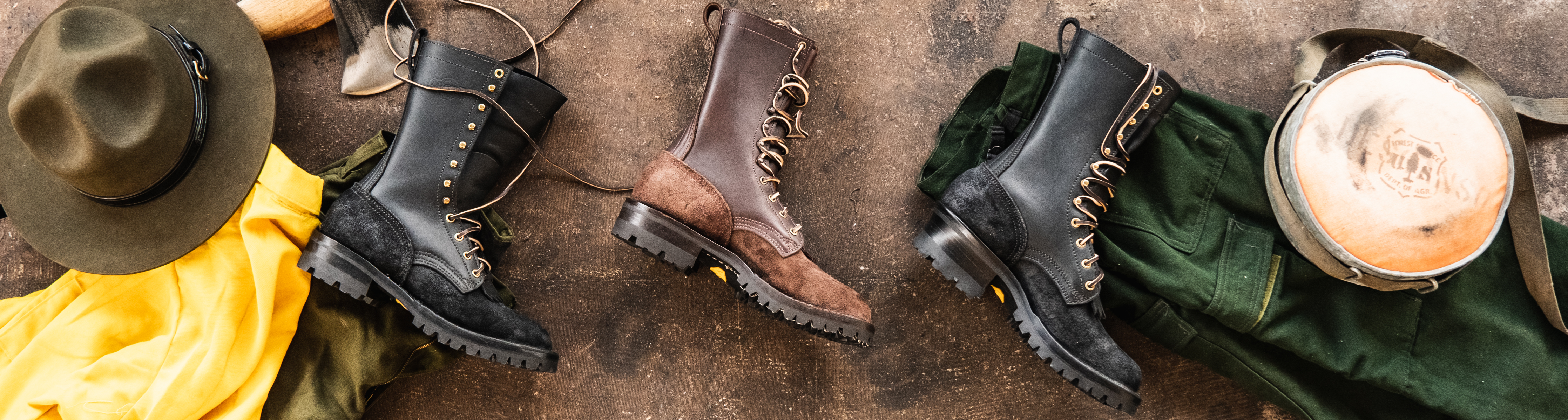 USDA Forest Service Wildland Fire Boots - NFPA Certified