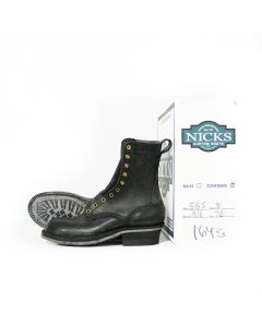"FS Ranger (Steel Toe) 55 Last Black 8"" L 7E R 7E NEW OLD STOCK (1643)"