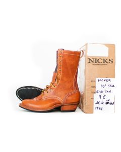 "FS Packer 5812 10"" English Tan L 9E R 9E NEW IN BOX (1731)"