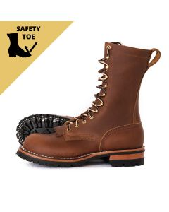 BuilderPro™ Safety Toe 1964 Brown Smooth FT Moderate Arch Lower Heel Standard Toe
