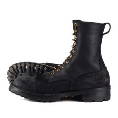 BuilderPro™ Black FT Moderate Arch Toe-Cap 10.5C - Ready to Ship - Free Shipping!