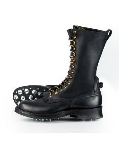 """Woodsman Black 55 Classic Arch 12"""" Standard Toe 13D- Ready to Ship - Free Shipping!"""