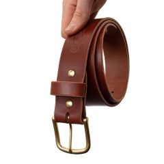 "Heritage 1 3/4"" Work Belt - Medium Brown 12-14oz"