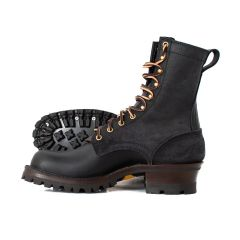 Hooligan Moto Boot Black 67 Classic High Arch - STOCK - FREE SHIPPING