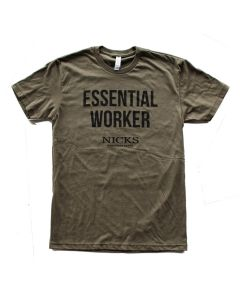 Nicks Essential T-Shirt Military Green