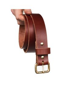 "Heritage 1 1/2"" Casual Belt - Medium Brown 12-14oz"
