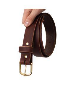 Men's Belt - Walnut Brown