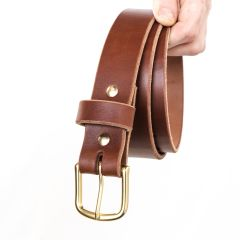 "Heritage 1 1/2"" Casual Belt - Medium Brown 12-14oz"