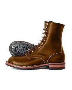 Nicks Officer Boot - Brown