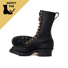 BuilderPro™ Steel Toe Black 55 Classic Arch - STOCK - Free Shipping!