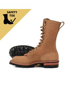 BuilderPro™ Safety Toe FT Tan Roughout Moderate Arch