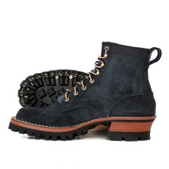 Urban Logger® Black Roughout 55 Classic Arch Standard Toe - STOCK - Free Shipping!