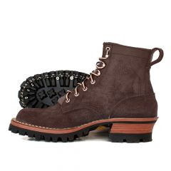 Urban Logger® Walnut Roughout 55 Classic Arch Standard Toe - STOCK - Free Shipping!