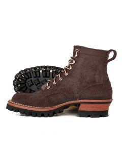 Urban Logger® Walnut Roughout 55 Classic Arch Standard Toe 13.0D - Ready to Ship - Free Shipping!