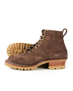 Urban Logger® Chocolate Roughout 55 Classic Arch Standard Toe 11EE - Ready to Ship - Free Shipping!