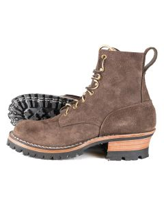 Urban Logger® Walnut Roughout 55 Classic Arch Standard Toe 7.5D - Ready to Ship - Free Shipping!