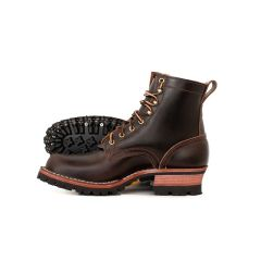 Urban Logger® Brown Waxed Flesh 55 Classic Arch Standard Toe - STOCK - Free Shipping!