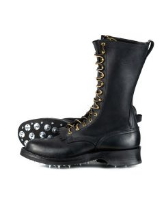 """Woodsman Black 55 Classic Arch 12"""" Standard Toe 12D- Ready to Ship - Free Shipping!"""