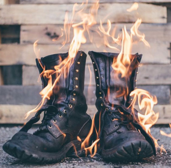 What Are Firefighter Boots Made Of?
