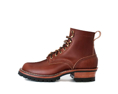 high quality english bridle leather work boot