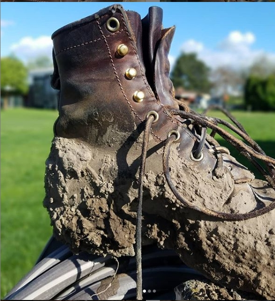 waterproof your boots before the wet season