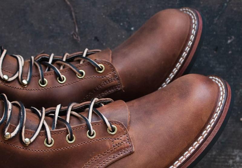 stitchdown boot construction