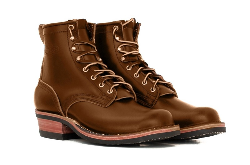 nicks boots made with chromexcel leather