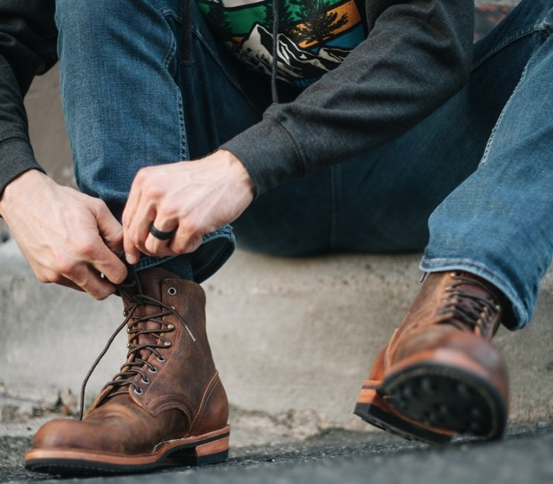 comfortable nicks work boots