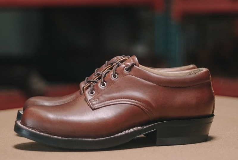 comstock handmade leather shoes