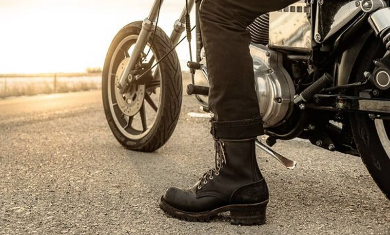 motorcycle boots custom made