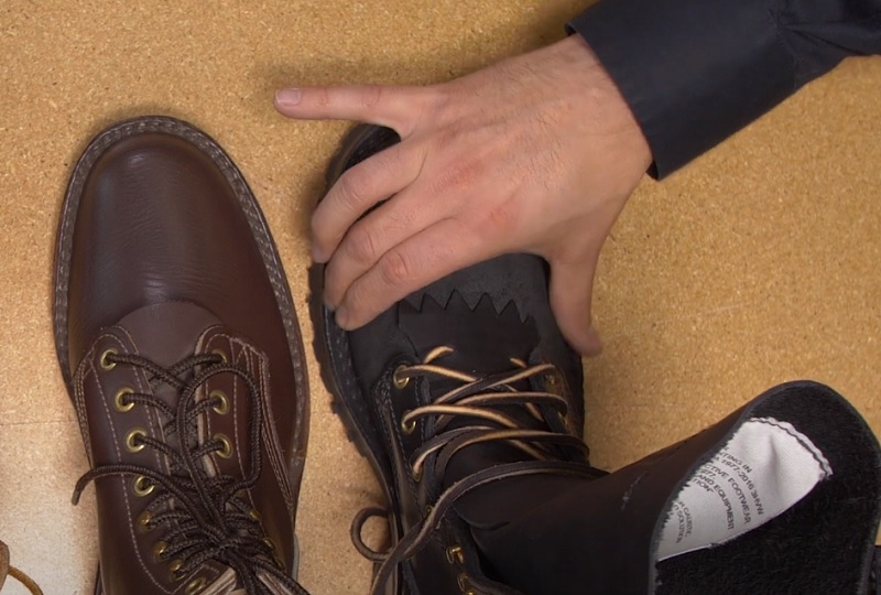 making wide toe box boots