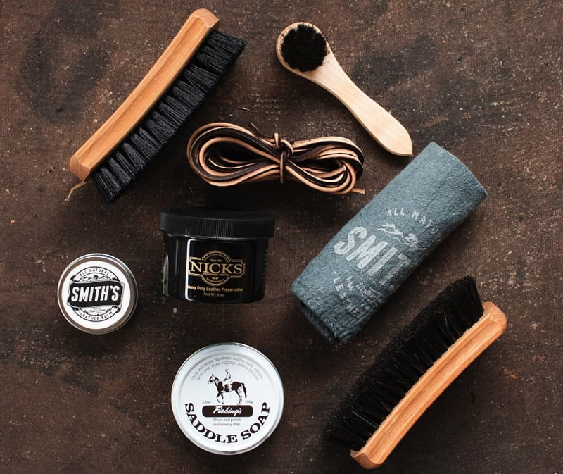 products to take care of leather boots