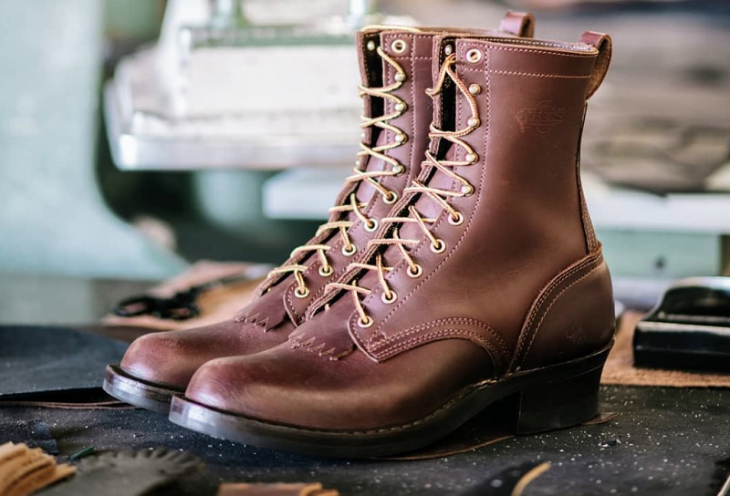 cost of leather work boots