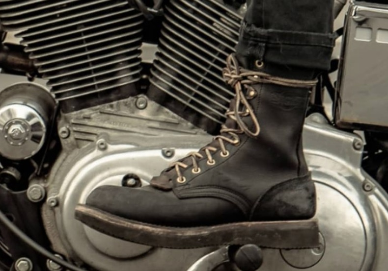 custom made motorcycle boots