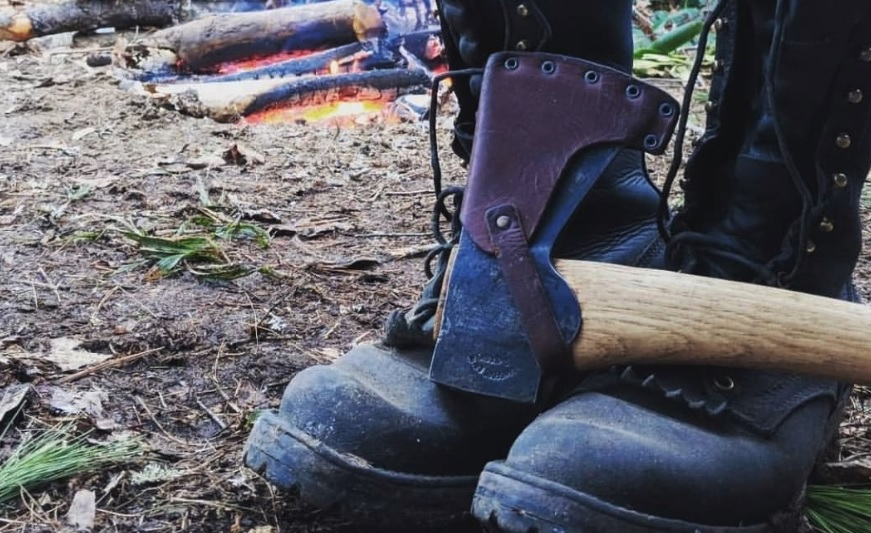 Steel Toe Logger Boots If Needed