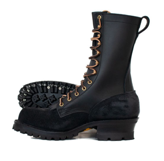 nfpa approved fire boots have melt and flame resistant lug soles