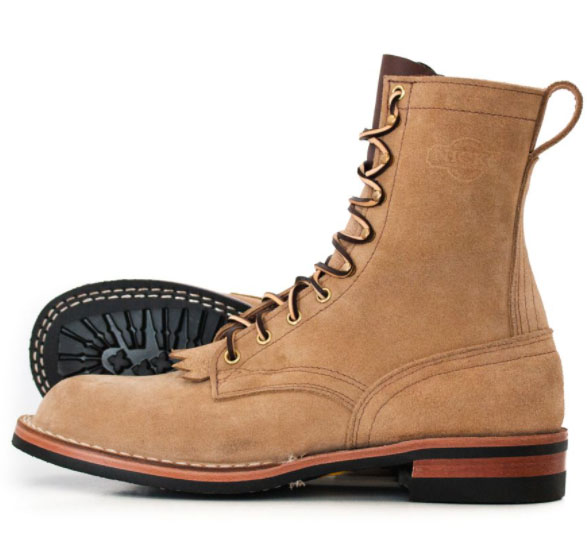 outdoor work logger style boot