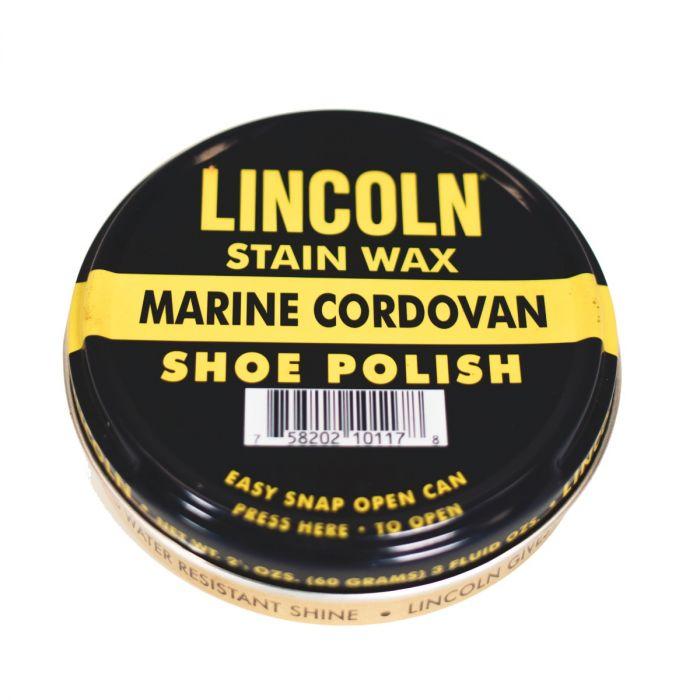 lincoln wax shoe polish