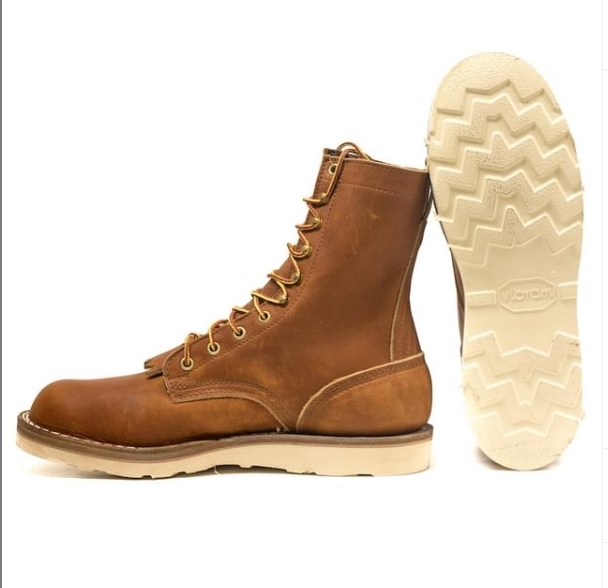 nick's wedge sole work boots