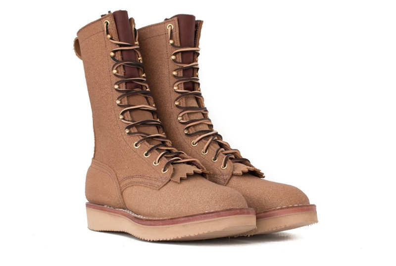 wedge sole construction work boots