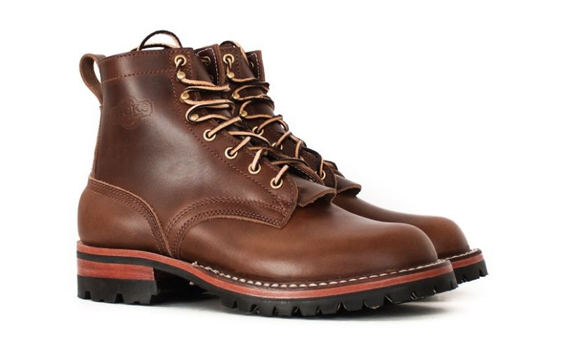 chromexcel leather work boots