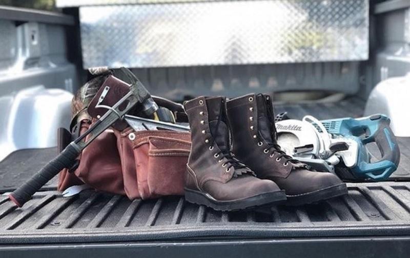 daily maintencance of work boots