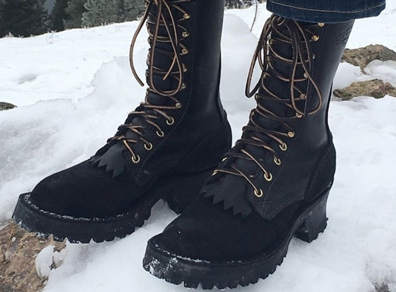 snow and rain work boots